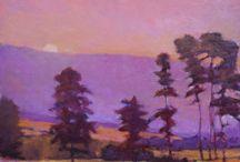 Landscape Love / Landscape art and paintings