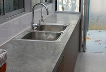 Countertops - blat din ciment
