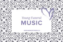 Young Funeral Music / A selection of music ideas for a young person's funeral. Curated by Memory Press - creators of beautiful, uplifting and memorable funeral Programs. At Memory Press, we create beautiful, uplifting and memorable programs for funeral and memorial services - fully customised within 24 hours. We collect these funeral music ideas as a resource for our clients.