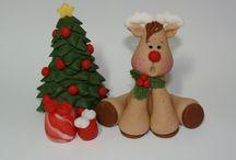 Clay christmas