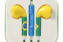 Ακουστικά για Smartphones Brazil Flag / Ποιότητα στον ήχο που σίγουρα θα σας συναρπάσει !!