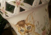 Angolo Napoli ceramiche / Opere artistiche in ceramica
