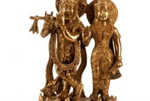 Lord Krishna Brass Statue / Investigate our exhibition of #Krishna #statues. View Krishna statues in his numerous structures