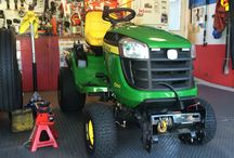 John deer modifications / Modifications i did on my lawn tractor