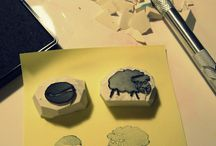 rubber stamps / Creating rubber stamps