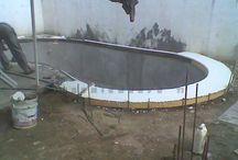 Construcción alberca
