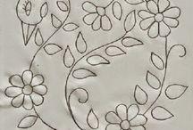 dibujos de bordado