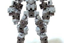 Lego Mech Frames