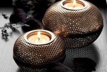 Candles and Candlesticks Decor