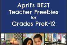 Teacher Freebies