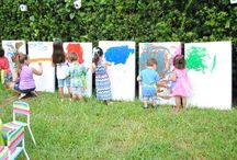Paint Birthday Party / by Jade Simms
