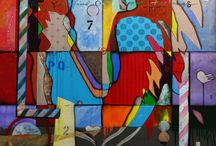 """All Colors"" - October 2015 / Contemporary Art Gallery Online October art Competition entitled ""All Colors."""