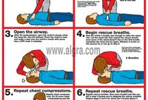 CPR and First Aid / by Health & Fitness Posters