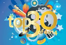 TOP 30 - Light FM / Top 30 2014 will take place on January 30 2015 from 4 to 7 PM