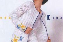 Crochet cardigans,jackets...