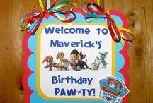 Paw Patrol Birthday!