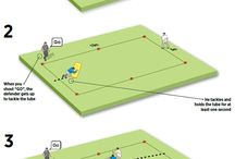 tackle practice