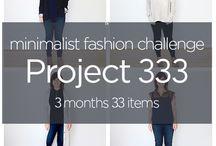Capsule Wardrobe / project 333, capsule wardrobe, minimalist, simple ware