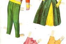 June Allison paper doll