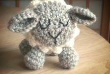 chrochet sheep pattern