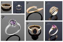 Pierścionki na specjalną okazję / Pierścionki z kamieniami szlachetnymi, z diamentami, z cyrkoniami wykonane ze złota