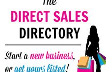 Direct Sales Companies / Direct Sales / by Aiden Kirchner
