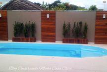 Paisagismo piscina