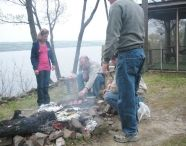 A Fire by the Lake / by The Pearl of Seneca Lake Bed and Breakfast