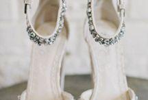 Sko til brud - bryllupsdagen