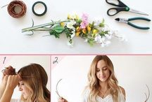 Inspiring Hair Styles with Flowers