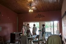 Dining room renovation / Renovating the Dining room in our house with lots of ideas and products of Granny B
