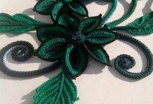*verde y negro