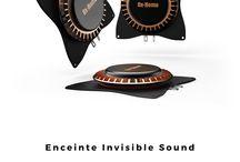 Sound / Les gammes Sound by Ox-Home permettent d'agrémenter votre image avec des solutions allant de l'invisible sound au son haute fidélité.