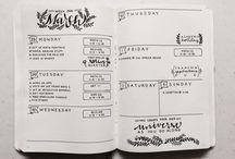 Journal/Diary inspo