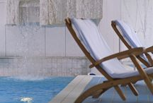 Dive In / Swim in some of the most eye-catching and luxurious pools when you travel with Powder Byrne.