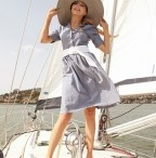 Summer, Boat, Color, Woman