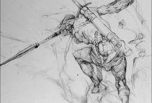 Drawings / by Charles Brock