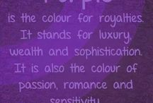 My favourite color is PURPLE <3