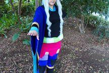 Togame - Katanagatari / With her main clothes.  Photos by Maneki Neko Cosplay & Eric Iglesias.  #togame #katanagatari #anime #cosplay #rydia