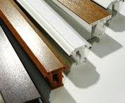 Thanh profile sản xuất cửa nhựa lõi thép