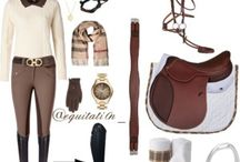 Equestrian outfits