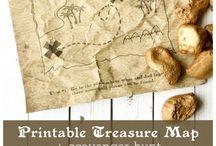 mapas del tesoro / mapas