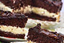 Aszalt szílvás vanília krémes torta