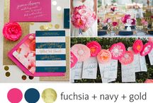 Wedding Colors / Choose your favorite wedding colors to carry throughout your wedding details and follow this incredible wedding colors resource board.