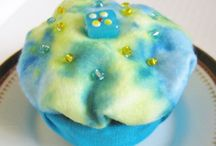Cupcakes / Handmade cupcake trinket boxes