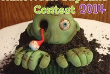 halloween cupcake contest 2014! / Enter to win $200! See our Facebook page for details and regulations. Send your cupcake to friend@bakersbodega.com