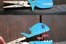 Fish pin / Craft