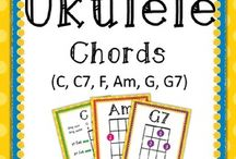 Ukulele charts / Ukulele sheet music