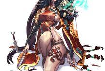character female