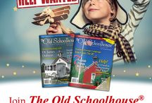 The Old Schoolhouse® Family of Resources / The Old Schoolhouse Advertisers and SchoolhouseTeachers.com Promotions for homeschooling and homeschool.